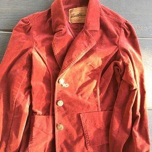 Levi's velvet jacket